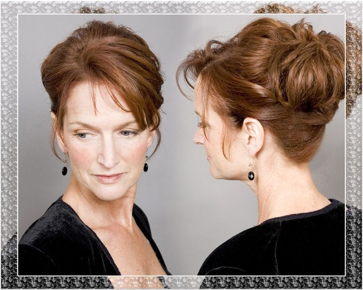 Mother Of The Bride Updos Pictures Hairstyles For Wedding Weddings