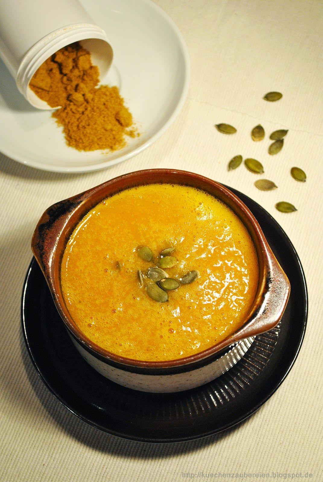 Weihnachts-Ideen-Küche: Würzige Kürbis-Curry-Suppe (Küchenzaubereien ...