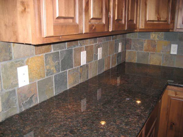 Tile Backsplashes With Granite Countertops Granite Countertop W Tile Backsplash Britton Development