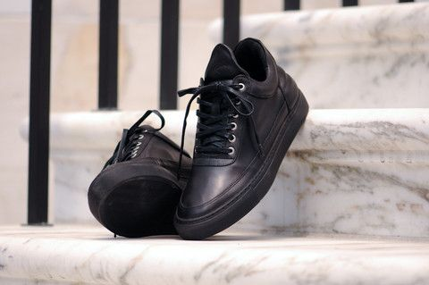 20f295f0a5 Ronnie Fieg x Filling Pieces Low Top - Black