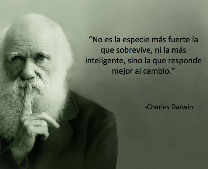 Cita de Charles Darwin