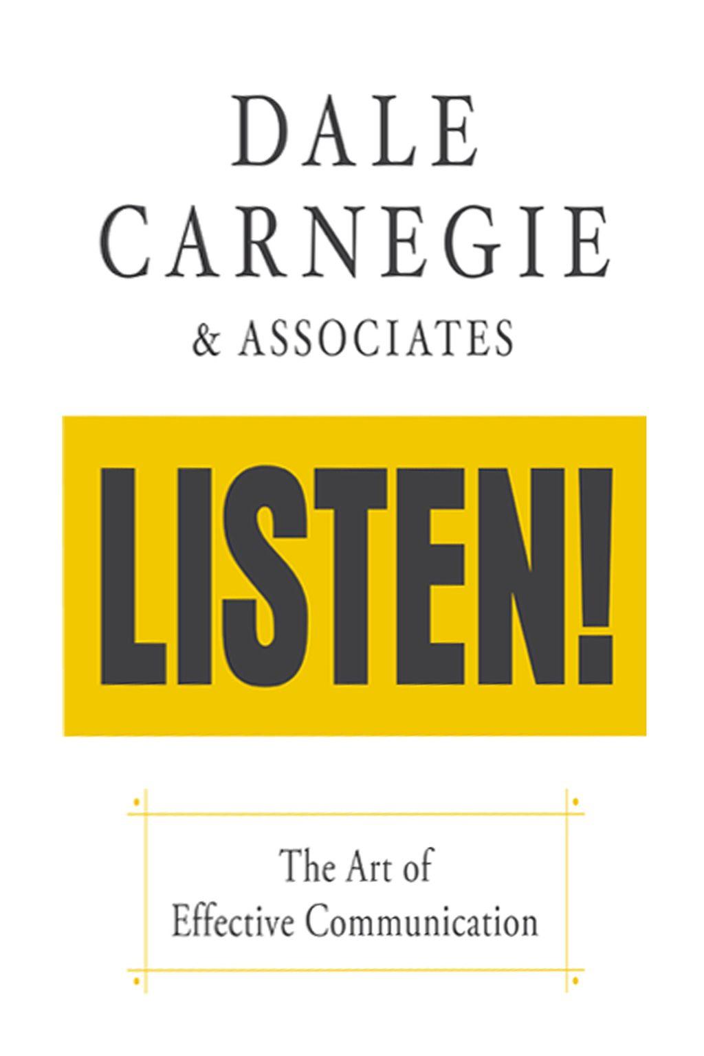 Dale Carnegie Amp Associates Listen Ebook In
