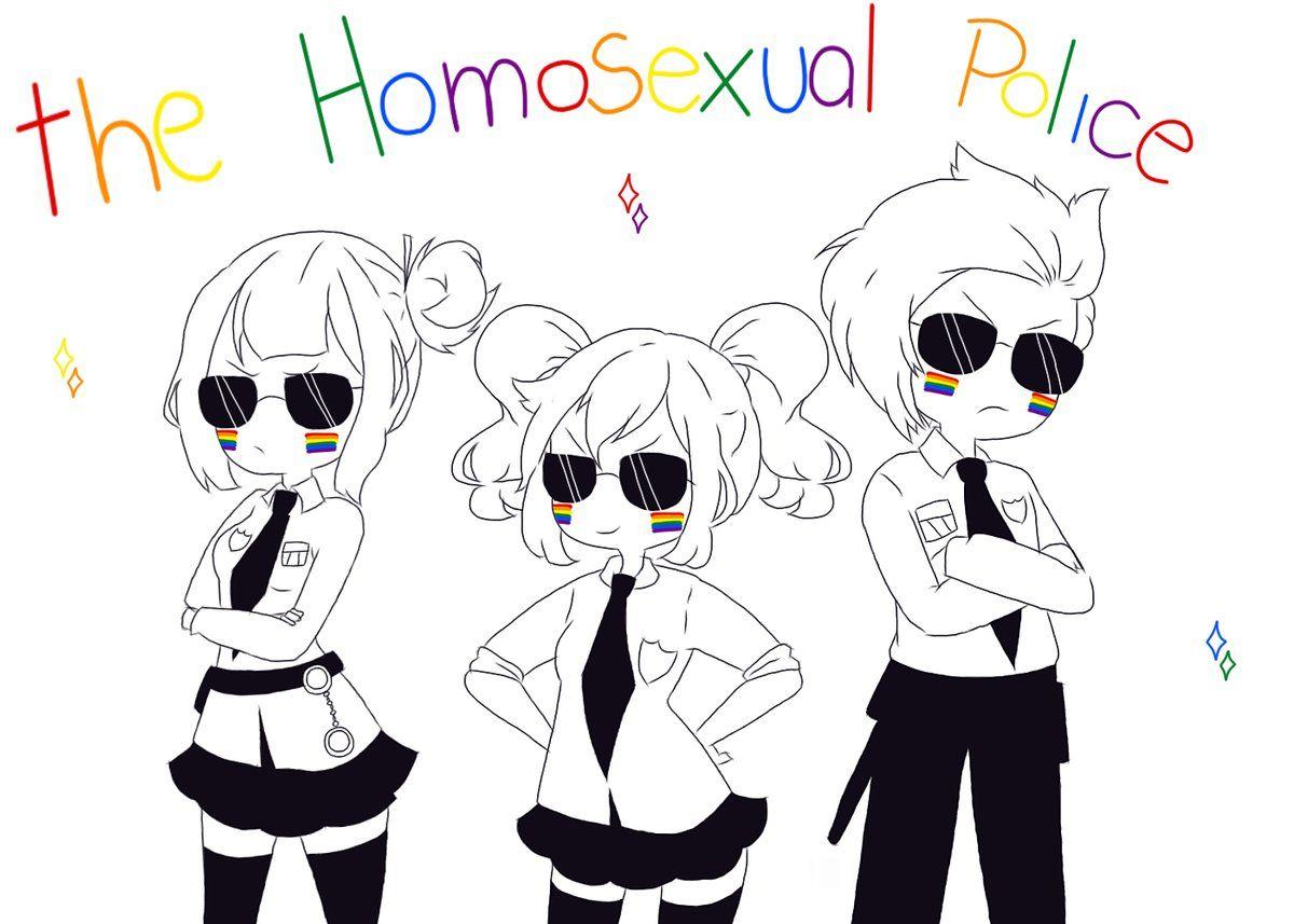 parece que algunos le ven la cara de homo >u<
