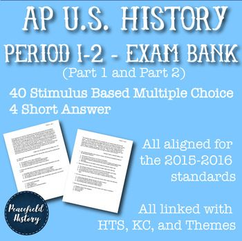 Period 1 And 2 Apush