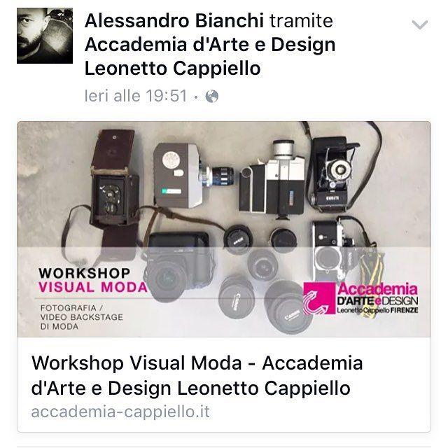 Save the date. 14 e 15 Novembre 2015.  Workshop fotografia di moda e video backstage.  @laurasca @niccolopandolfini @accademiacappiello  #workshop #fotografia #video #accademiacappiello #photography #school #fashion #backstage