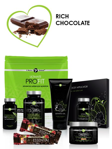 Looking to lose weight? The Ultimate Pack is going to give you the energy, the nutrients, and the detoxing you'll need to get you to your goal! Available in chocolate or vanilla.