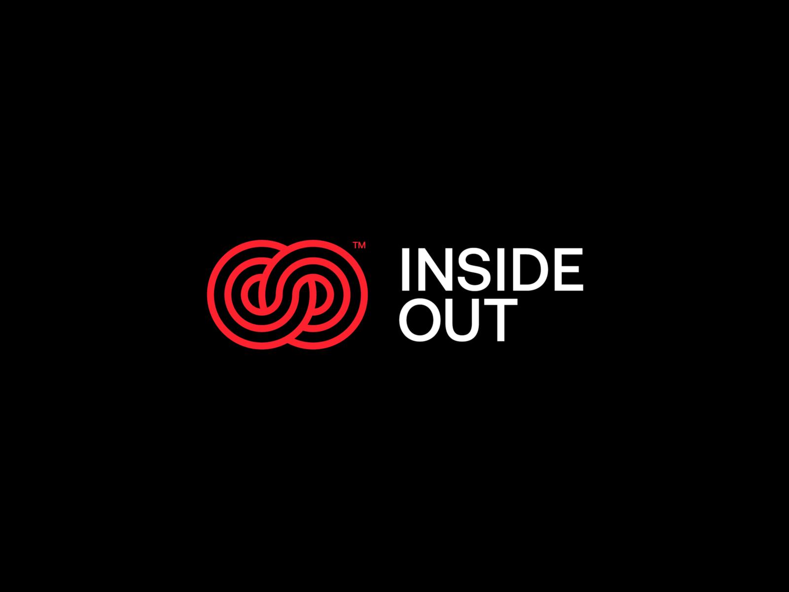 Inside Out Logo Logos Logo Design Minimalist Logo