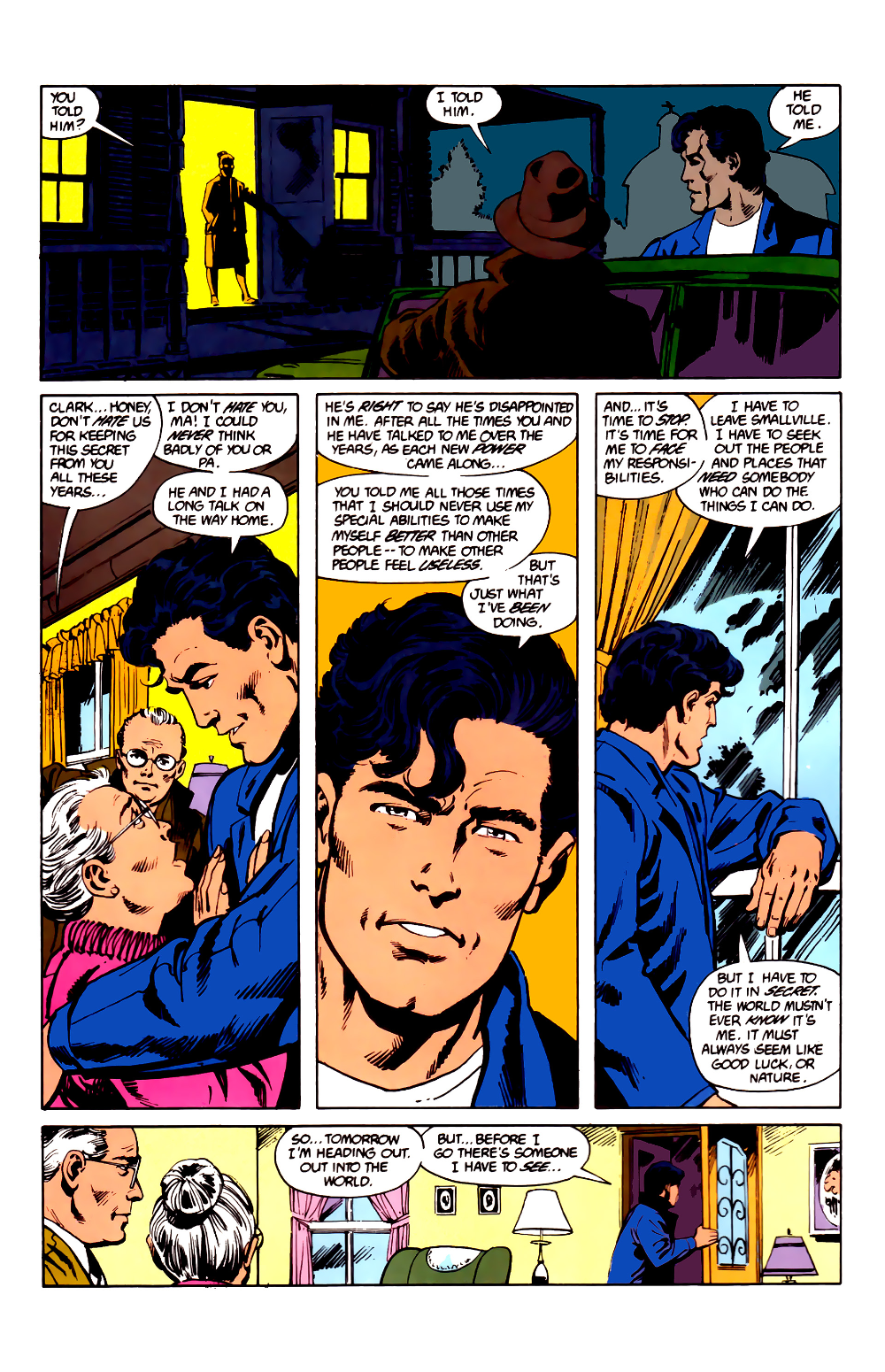 The Man Of Steel 1986 Issue 1 Read The Man Of Steel 1986 Issue 1 Comic Online In High Quality Superman Comic Comics Man Of Steel