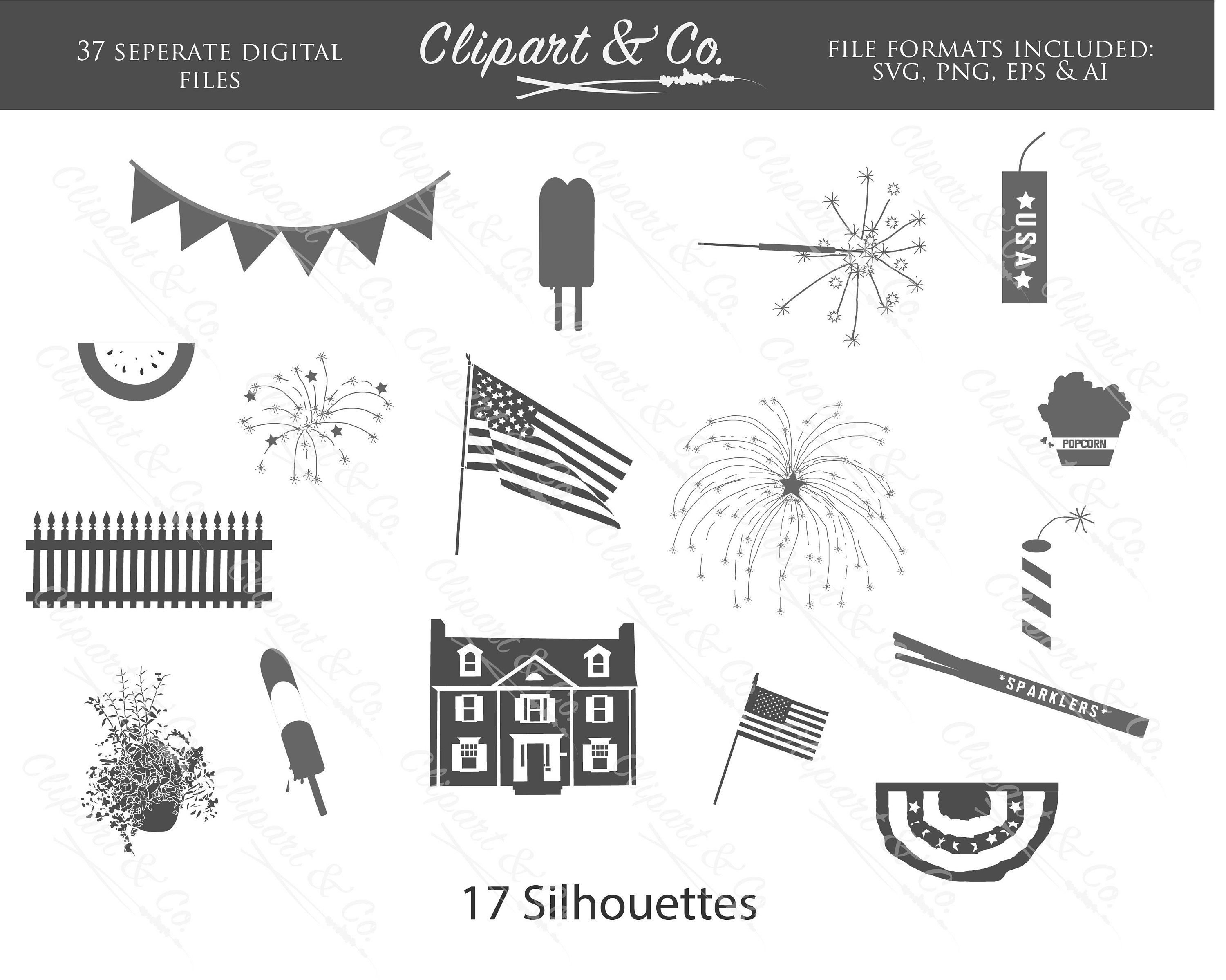 4th Of July Svg Bundle Fourth Of July Svg Merica Svg