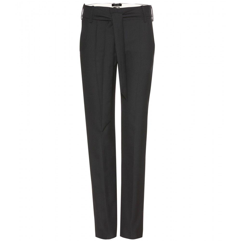 mytheresa.com - Pantalon à pinces en sergé de laine Kalla - Coupe droite - 259
