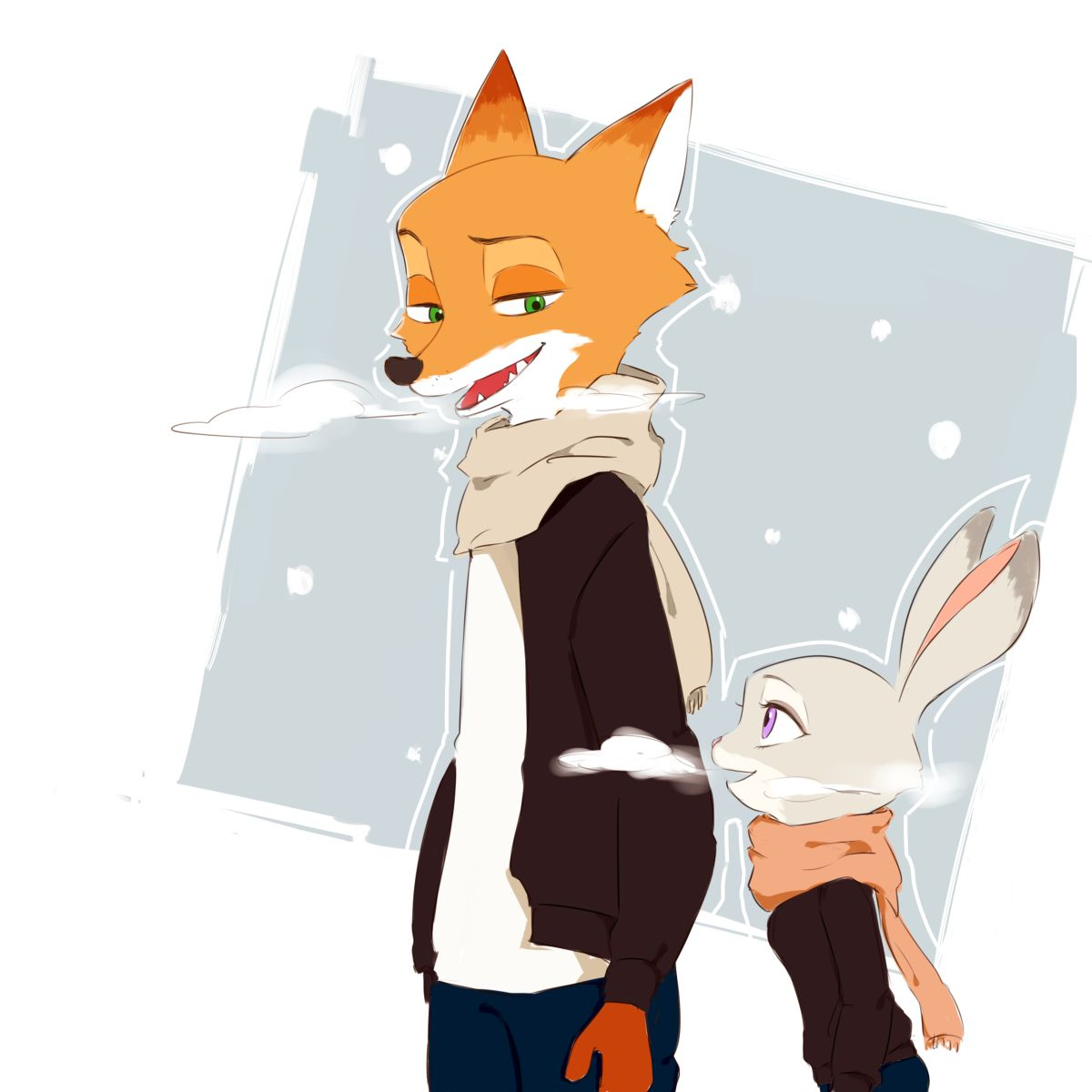 Winter Patrol  by とぐぐぐ  Source [1]           Is it just me, or do you guys associate Zootopia with summer?  De...