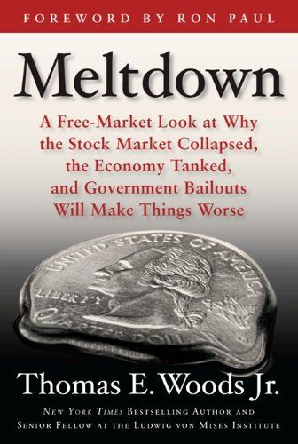 Meltdown: A Free-Market Look at Why the Stock Market Collapsed, the Economy Tanked, and the Government Bailout by Thomas E. Woods Jr. http://www.amazon.com/dp/B0097CZ06Q/ref=cm_sw_r_pi_dp_IOKvwb0ZQFBJG