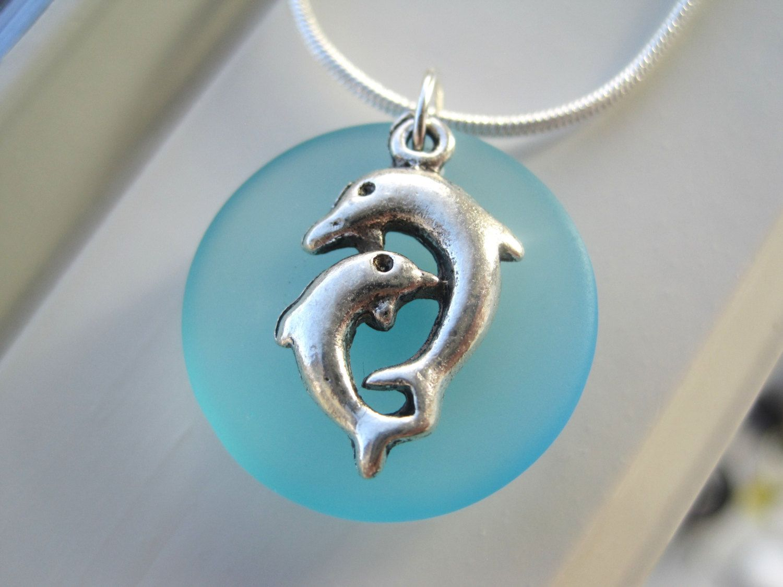 Beach Bridesmaid Jewelry Dolphin Necklace Hazel Glass Eye Silver Wire Wrap Pendant By Kimsjewels On Etsy Turquoise Sparkleandswirl 1800