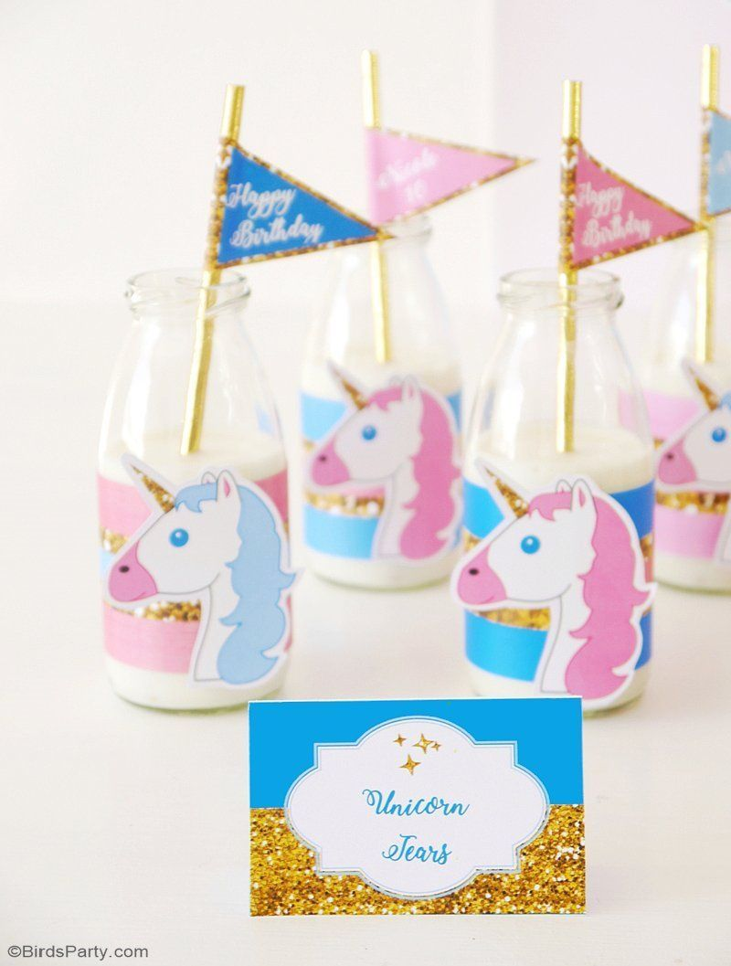 Unicorn Slumber Birthday Party Ideas With DIY Creative Decorations Printables Food And Favor Unicorns Unicornbirthday Slumberparty