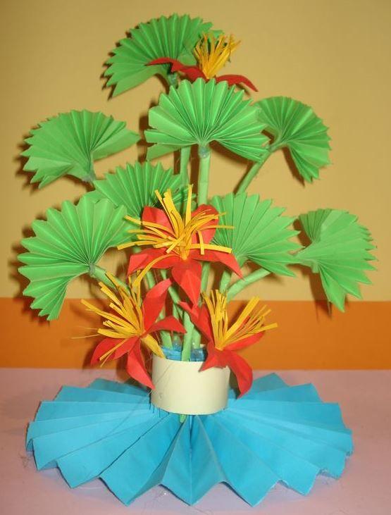 Kwiaty Z Papieru Ikebana Prace Plastyczne Dariusz Zolynski Flowers Paper Paper Flower Prace Z Papieru Flower Crafts Paper Flowers Paper Crafts