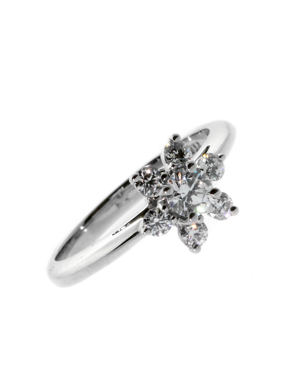 1411d968e You're looking at a stunning Tiffany & Co Flower Diamond Ring. About ...