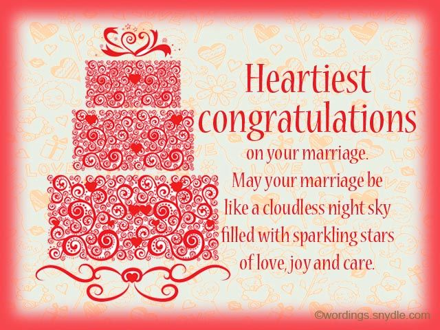 Wedding Wishes Messages And Day Wordingessages