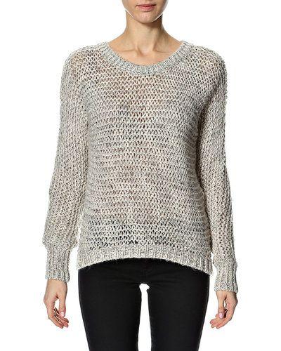 PULZ Asli l/s knit – stickad tröja – Sand