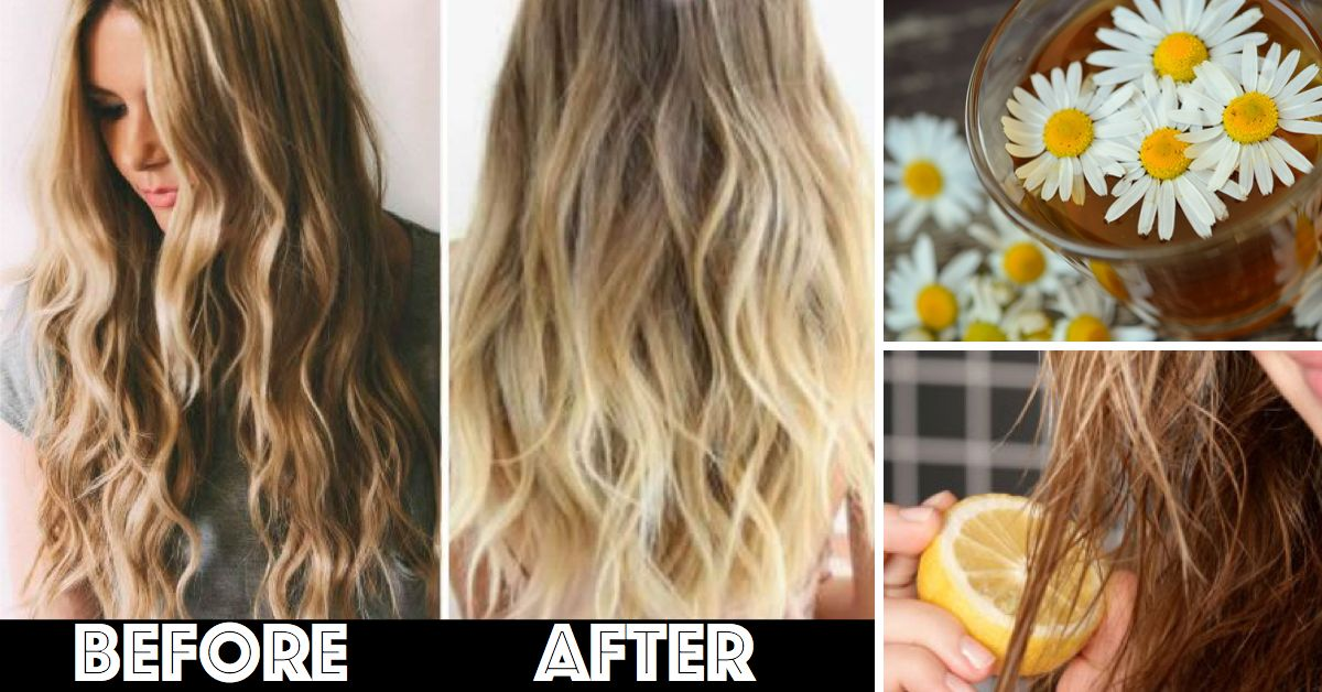 10 Amazingly Simple Ways To Lighten Your Hair Naturally How To