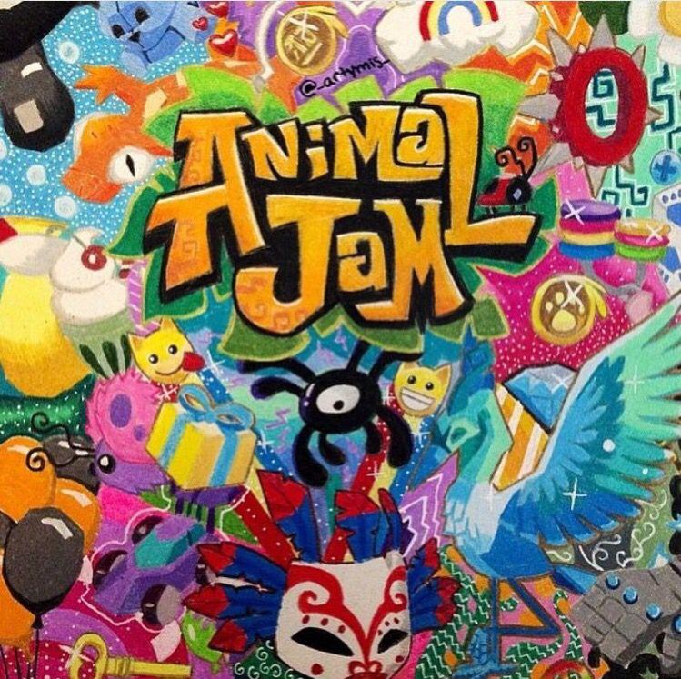 animal jam awesome background