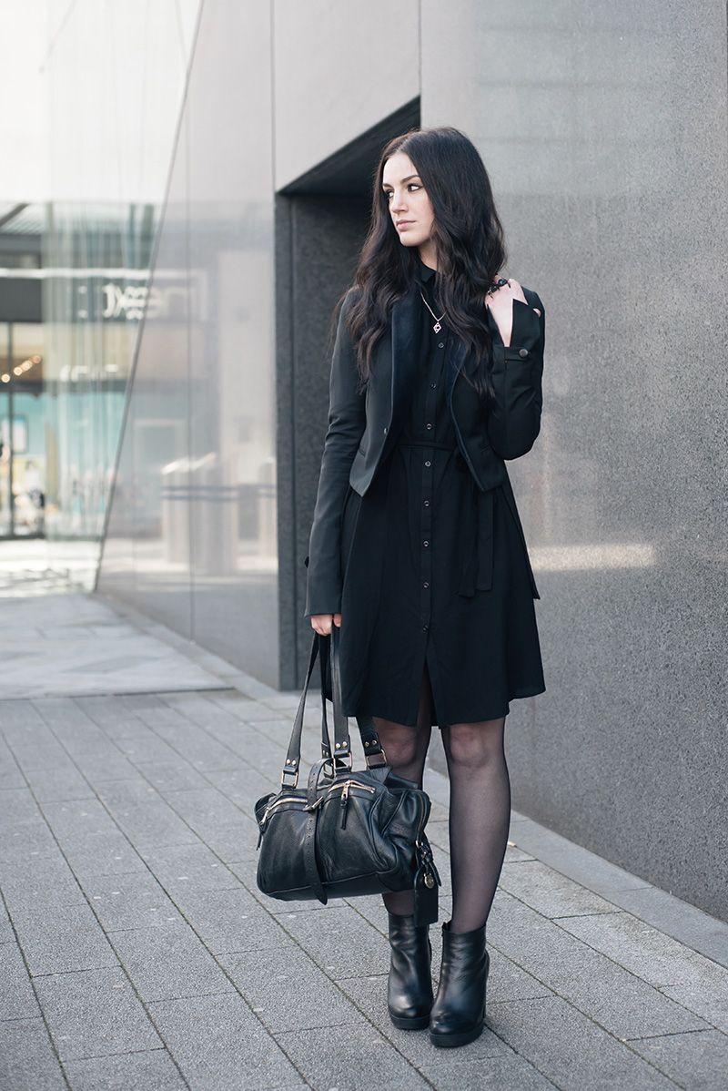 b6816680da59e Fashion blogger Stephanie of FAIIINT wearing Todd Lynn x Topshop Tux Jacket