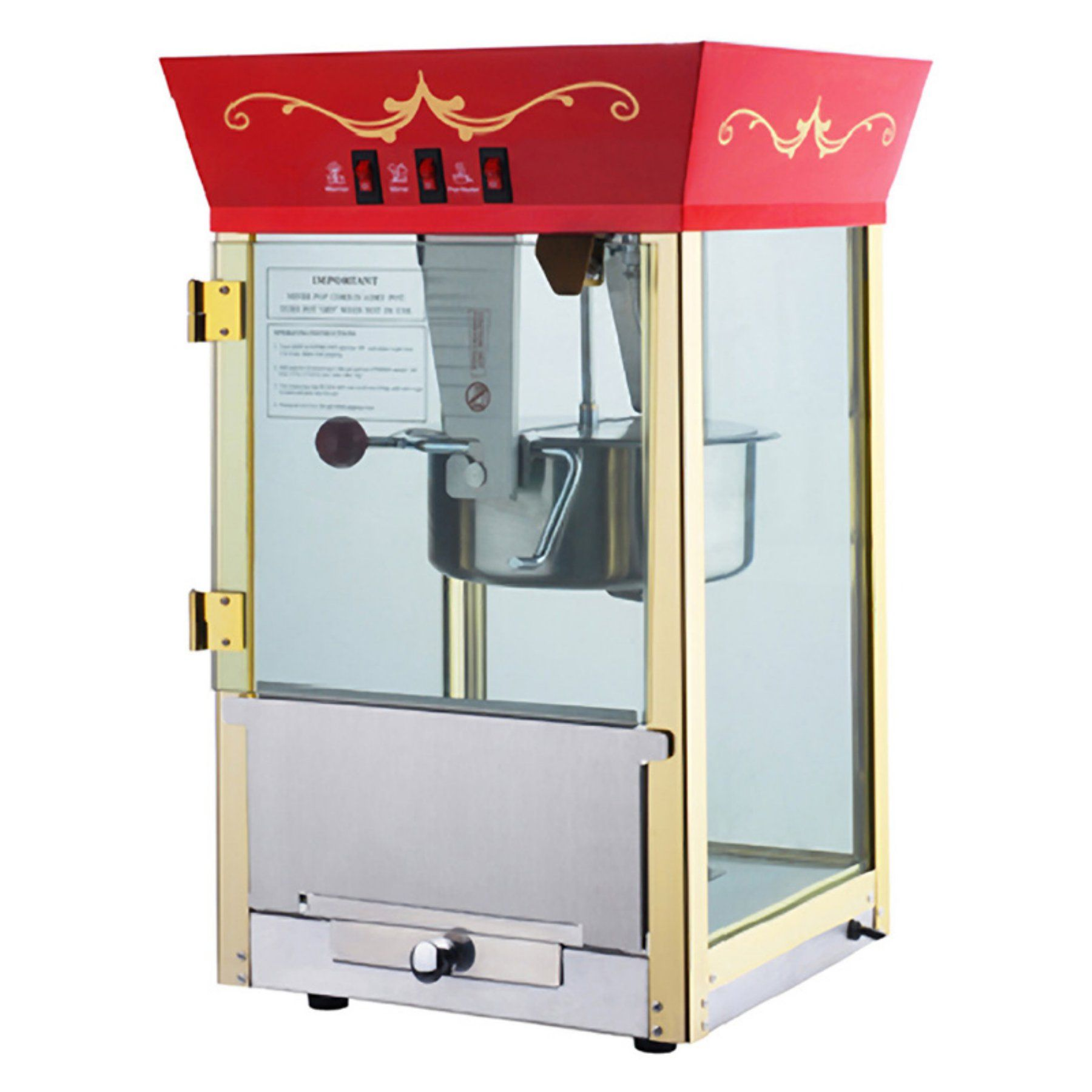 Great Northern Popcorn 6091 Antique Style Popcorn Popper Machine ...