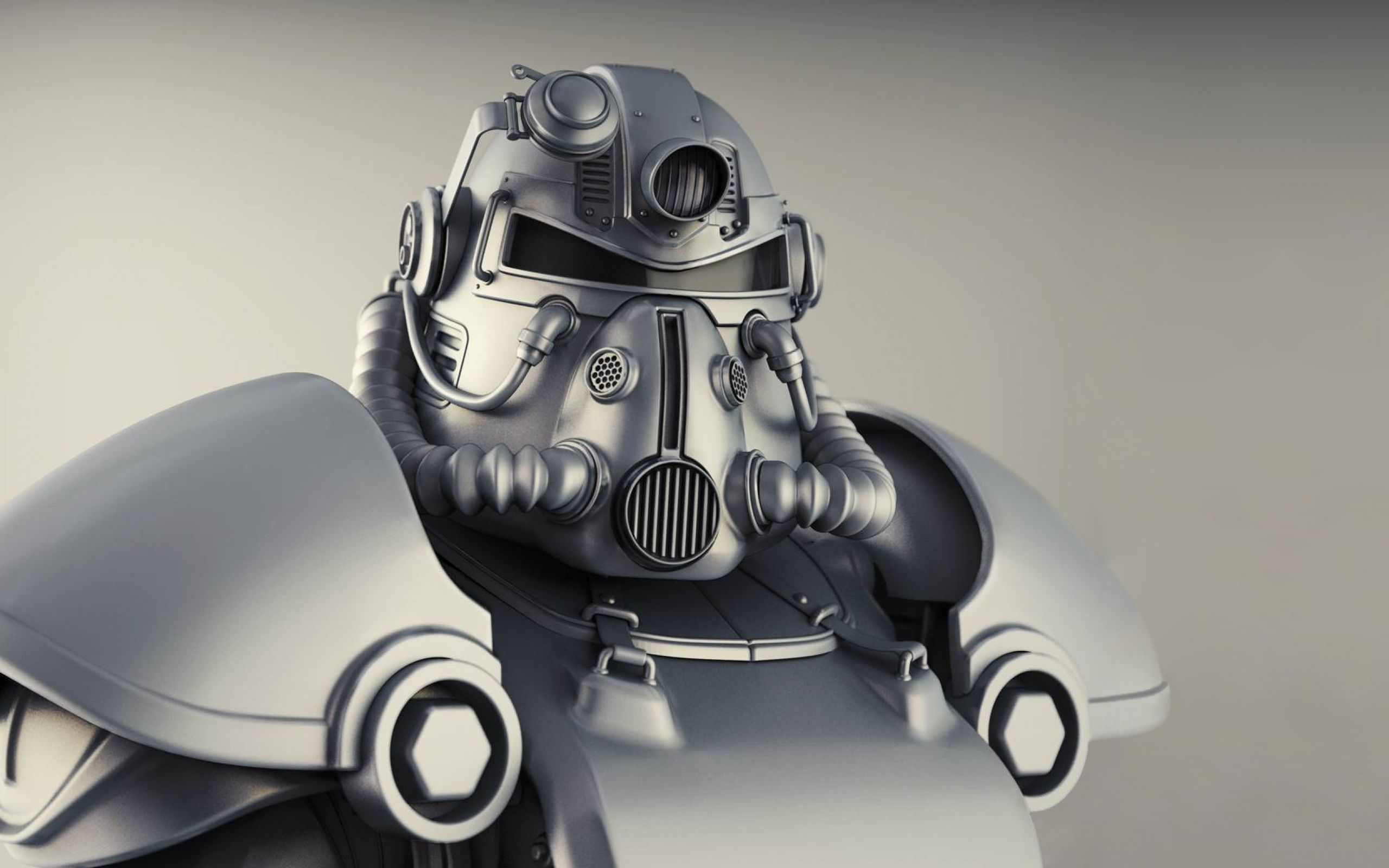 Download Wallpaper 2560x1600 Fallout 4 T 51b Power Armor