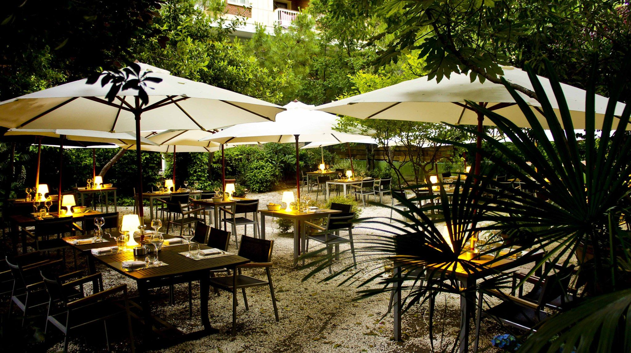Los Mejores Restaurantes Con Terraza De Madrid Outdoor Decor Patio Umbrella Patio