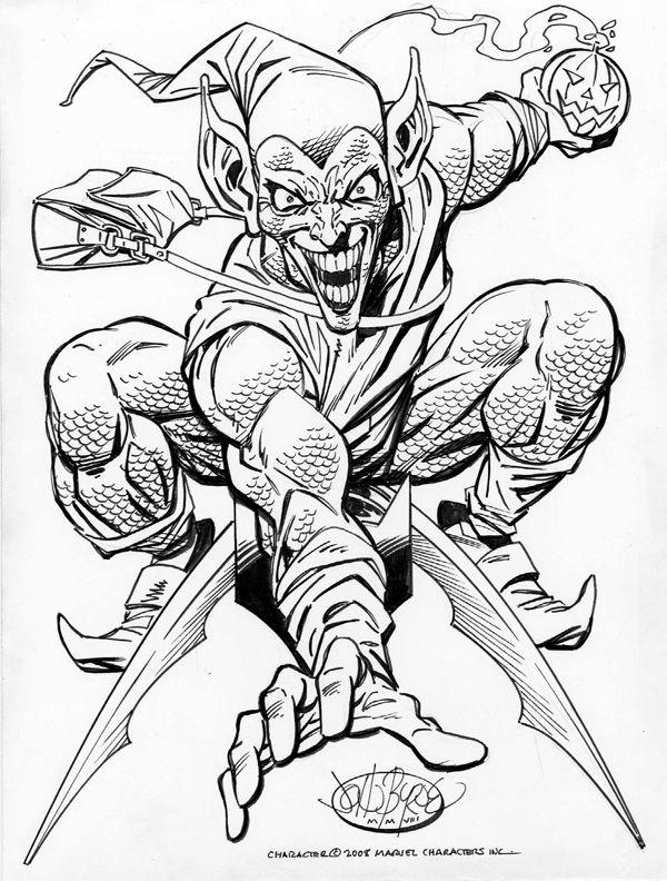 Green Goblin By John Byrne