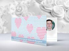 Personalisierbare Einladungskarten und Danksagungskarten zur Hochzeit