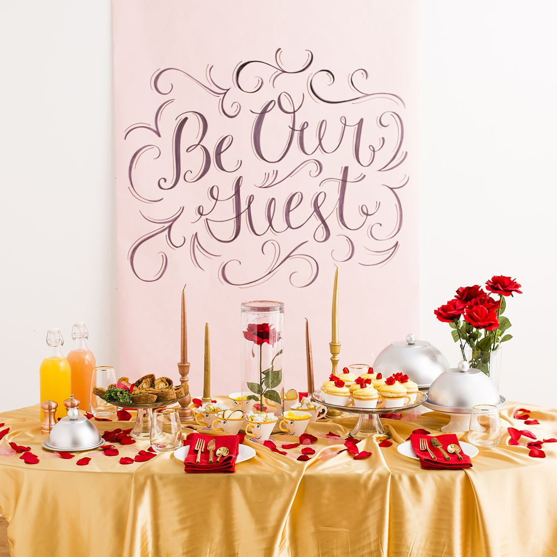 Save This For A Beauty And The Beast-inspired Dinner Party