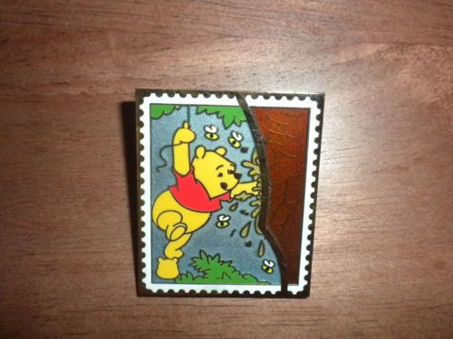 DISNEY PIN Pooh Trading Stamp Collection MYSTERY Pooh's Head NEW