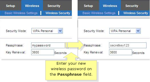 how set password on linksys router - Google Search