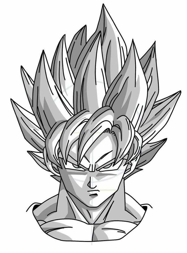 Nice cool drawings of dragon ball z 2 how to draw dragon ball z goku super saiyan 759 x 1024 jpg 759x1024