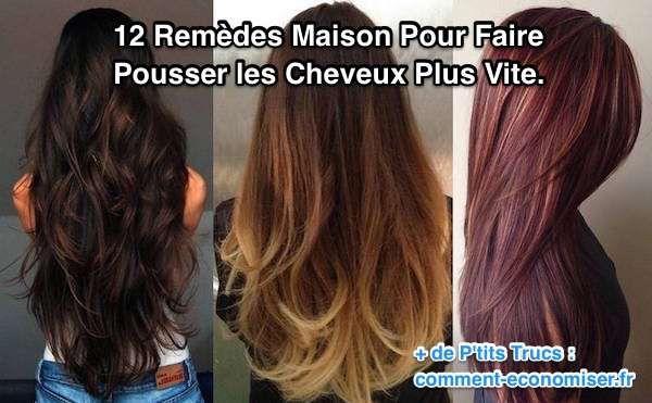 12 Remèdes Maison Pour Faire Pousser les Cheveux Plus Vite