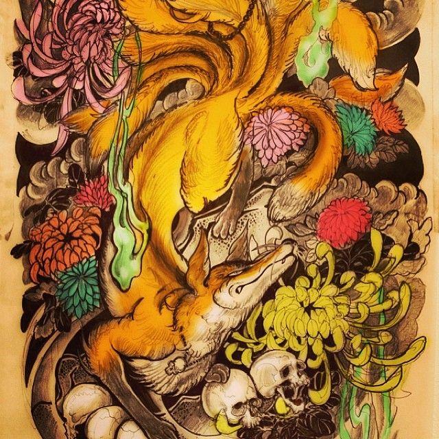 Rough Sketch Of Tatoo Tatuagem Oriental Koi