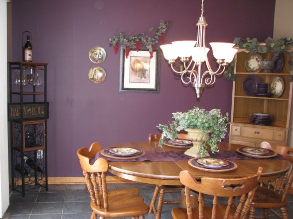 Possible Color For My Wine Themed Kitchen