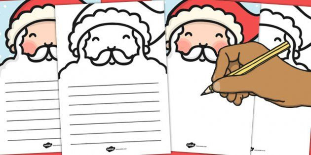 Santas beard letter writing template twinkl christmas letter to santa christmas xmas letter santa present spiritdancerdesigns Choice Image