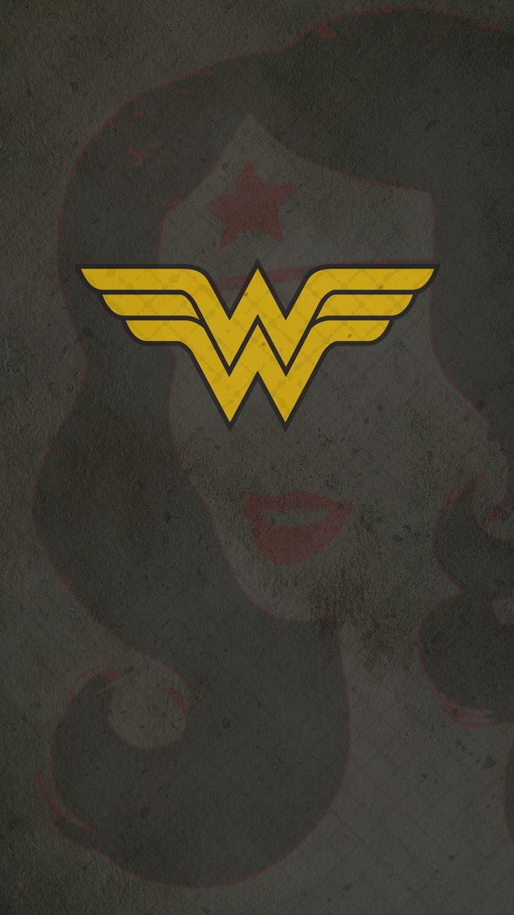 Wonder Woman 02 Iphone 6 Hero Wallpaper Superhero Wallpaper Wonder Woman Logo