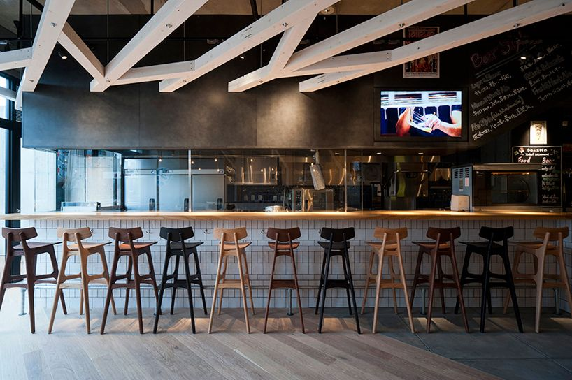 Gentil A Study Designs Craft Beer Restaurant Interiors In Fukuoka
