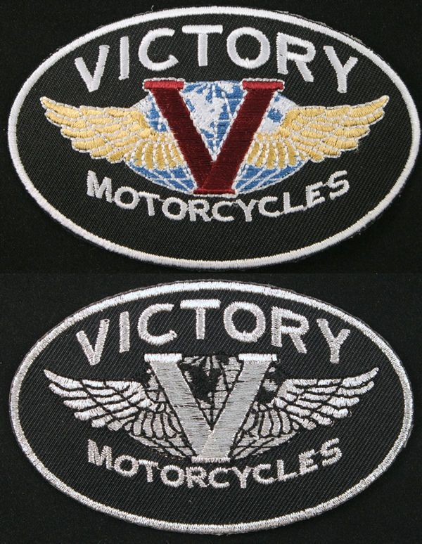 Victory Motorcycles Patch Badge Biker Iron On With Images