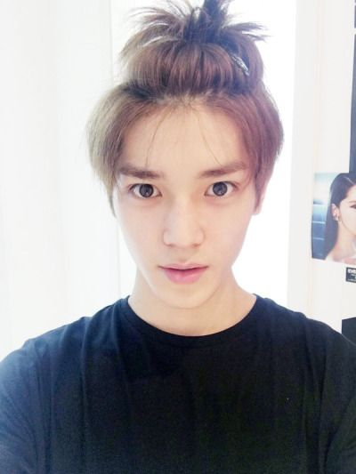Taeyong - NCT U || Cute his hairstyle makes him look like Luhan lol! that's for me.