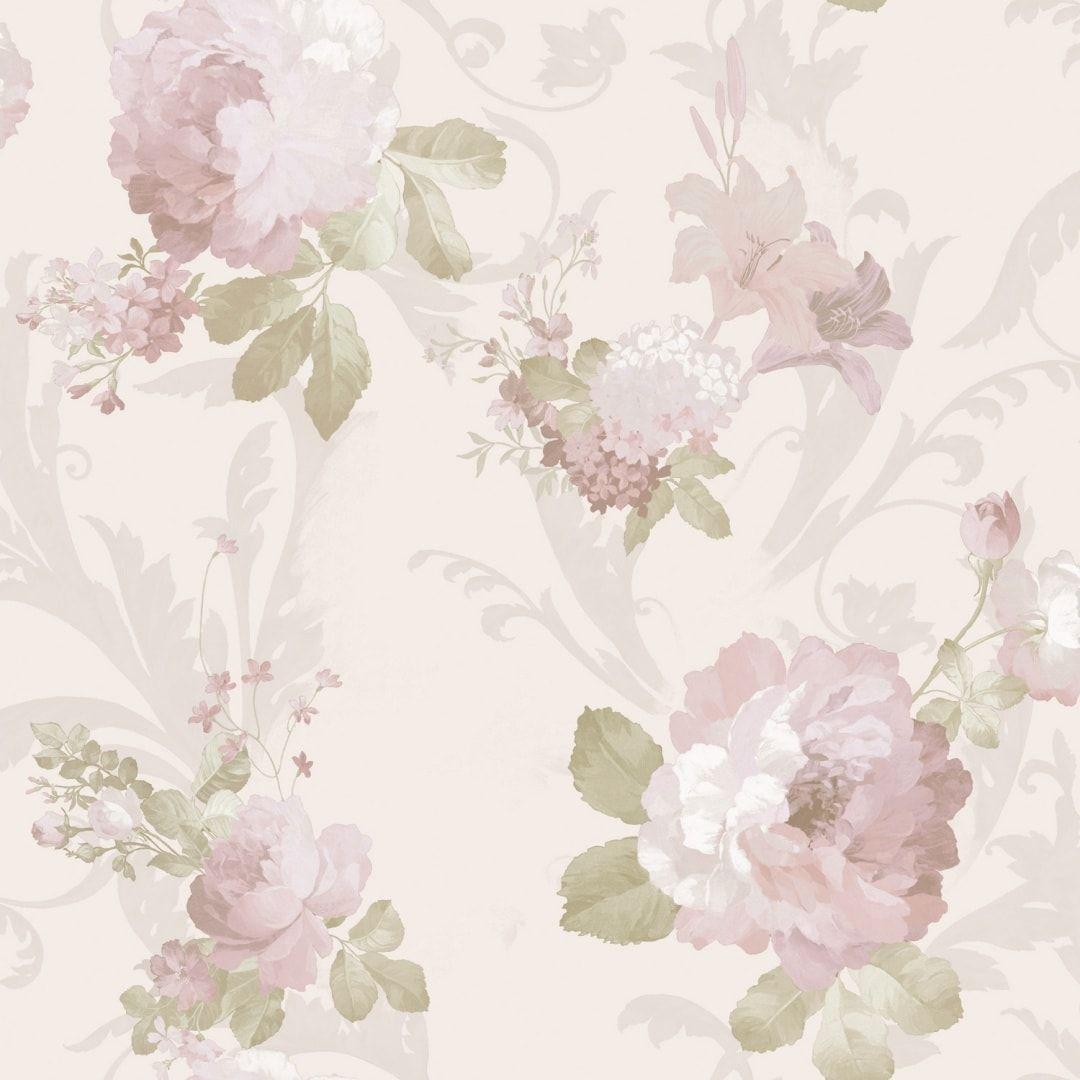 Inredning cover up tapet : Tapet roz | Model Tapet Roz Lavabil Cristiana Masi Carlotta ...
