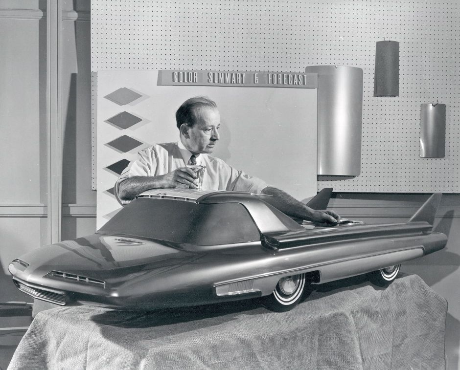 Ford Nucleon concept 1958 FoMoCo. What could have been....