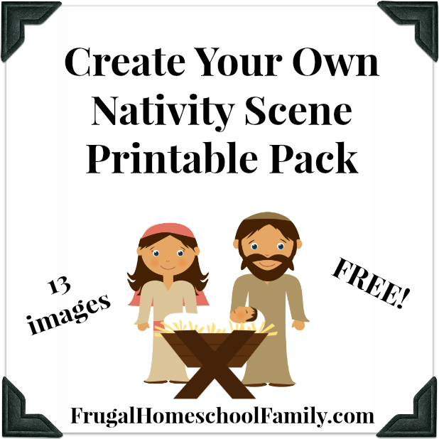 Worksheet. FREE Create Your Own Nativity Scene Pack  Frugal Homeschool