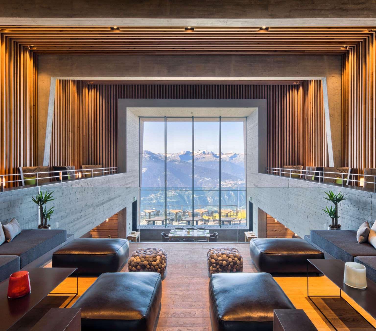 Hotel Chetzeron à Crans-Montana | Restaurant d\'Altitude Vue ...