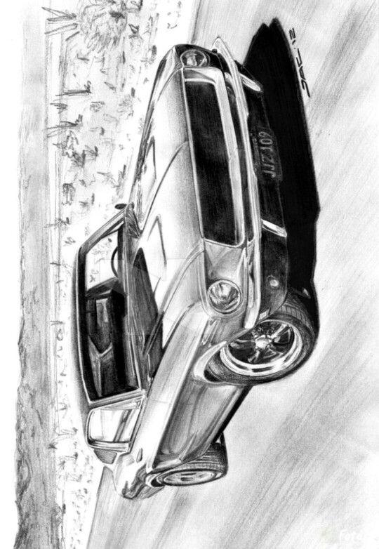 Kleurplaten Auto Ford Mustang.Coloring For Adults Kleuren Voor Volwassenen Mooie
