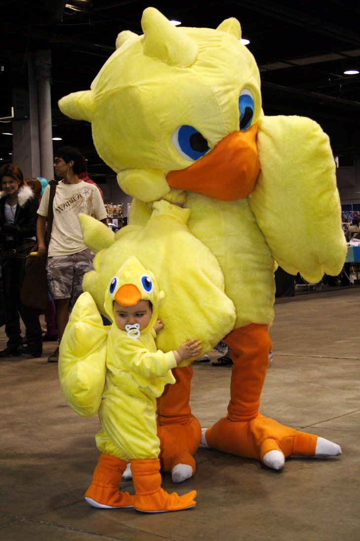 Baby Chocobo and Parent by ~wraamyth on deviantART & Baby Chocobo and Parent by ~wraamyth on deviantART | Children ...