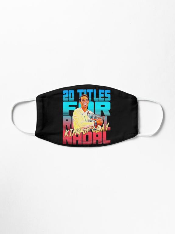 Rafael Nadal King Of Clay Mask Mask Face Mask Nadal Tennis Academy