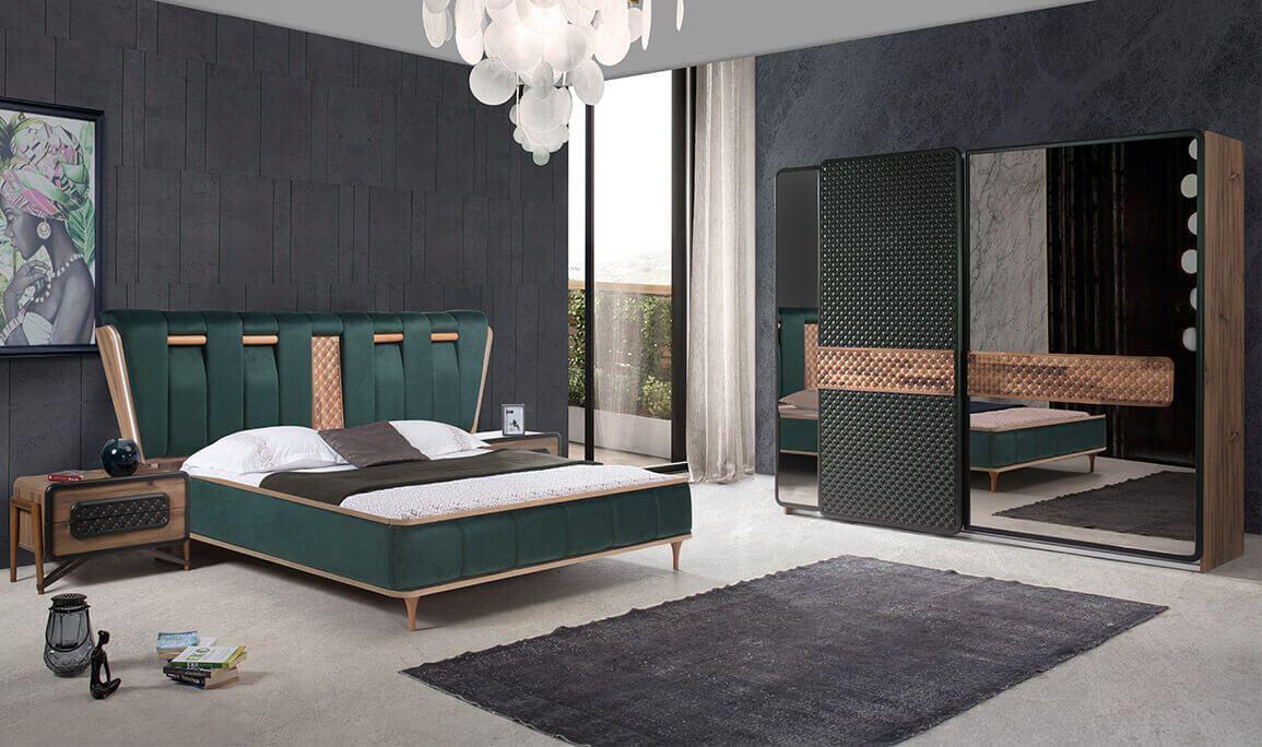 Gucci Yatak Odasi Modern Yatak Odalari Yatak Odasi Ic Mekan Luks Oturma Odalari Yatak Tasarimlari